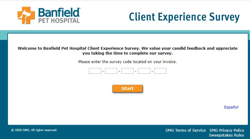 Banfield Pet Hospital Client Survey