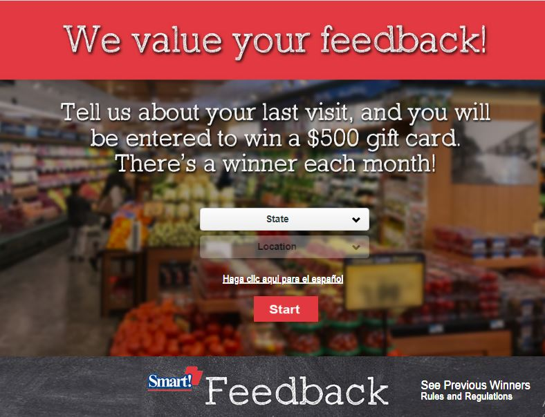 Foodtown grocery survey
