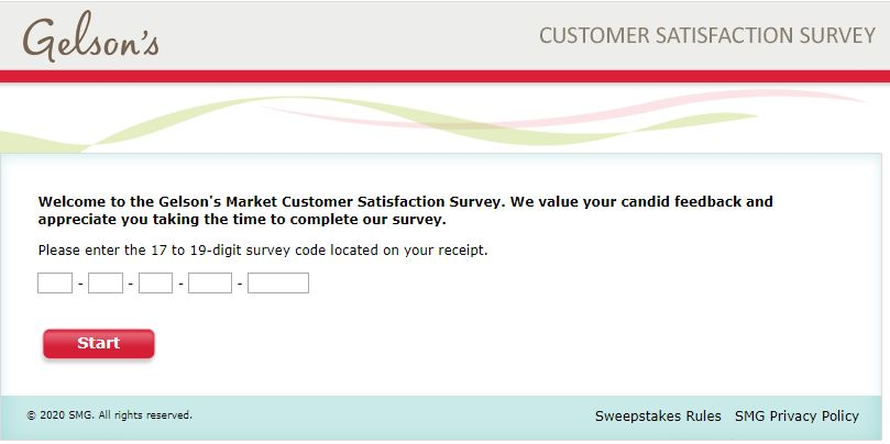 Gelsons Market Survey