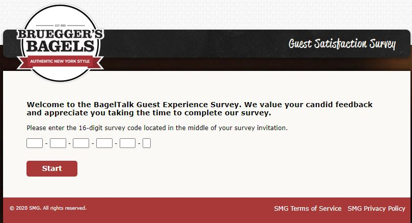 Brueggers Bagels Survey